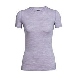 Icebreaker Oasis Crewe shirt dames silk heather