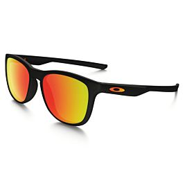 Oakley Trillbe X Ruby Iridium zonnebril heren polished black