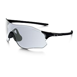 Oakley Evzero Path Photochromic Clear Black Iridium fietsbril heren polished black