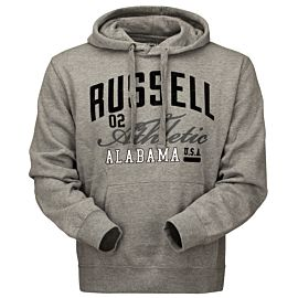 Russell Athletic hoody trui heren mid grey marl