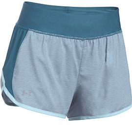 Under Armour Launch Tulip 2-in-1 short dames blue