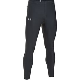 Under Armour Run True hardloopbroek heren black voorkant