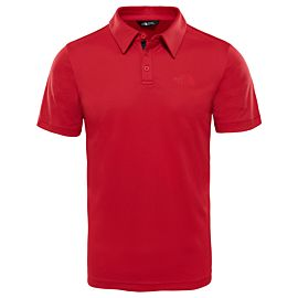 The North Face Tanken polo heren rage red
