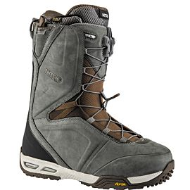 Nitro Team TLS snowboardschoenen heren charcoal chocolate