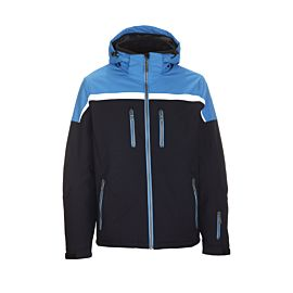 Killtec Helgro winterjas heren dark navy sky blue