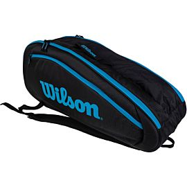 Wilson Ultra Team 6 tennistas black blue