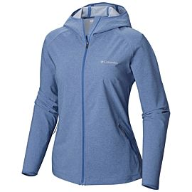 Columbia Heather Canyon softshell jas dames blue