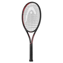 Graphene Touch Prestige Tour tennisracket black red schuin