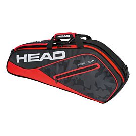 Head Tour Team 3R Pro tennistas black red schuin