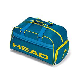 Head 4 Major Clubbag tennistas petrol blue yellow