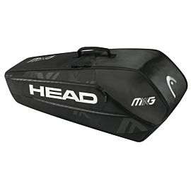Head MXG 6R Combi tennistas black silver