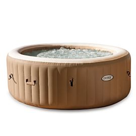 Intex PureSpa Bubble massage opblaasbare jacuzzi 4 personen