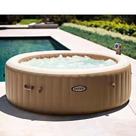 Intex Pure Spa Bubble massage opblaasbare jacuzzi 6 personen