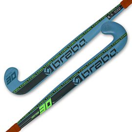 Brabo G-Force Heritage 30 hockeystick junior petrol lime