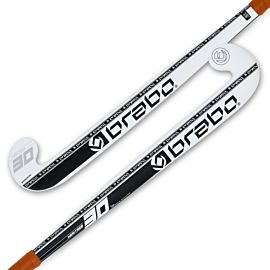 Brabo G-Force Heritage 30 hockeystick junior black white