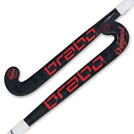 Brabo O'Geez hockeystick junior black red