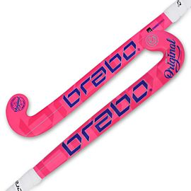 Brabo O'Geez hockeystick junior pink blue