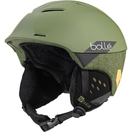 Bollé Synergy skihelm soft khaki slash