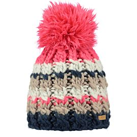 Barts Feather Beanie muts dames navy