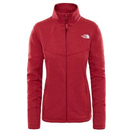 The North Face Wollen Inlux vest dames rumba red