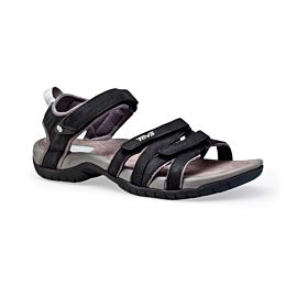 Teva Tirra Leather sandalen dames black
