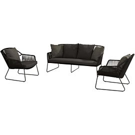 4 Seasons Outdoor Accor loungeset S anthracite