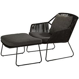 4 Seasons Outdoor Accor loungeset XS anthracite