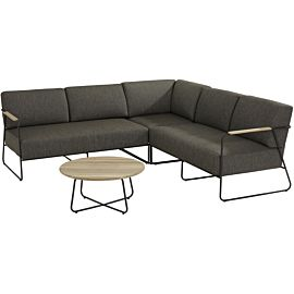 4 Seasons Outdoor Coast 73 loungeset anthracite