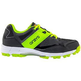 Grays Flash hockeyschoenen heren black neon zijkant