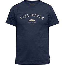 Fjällräven Trekking Equipment shirt dark navy