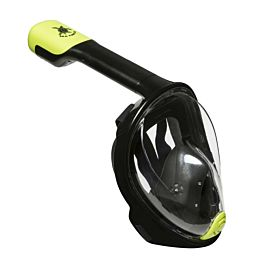 Aqua Lung Sea Turtle Full Face snorkelmasker black lime L-XL