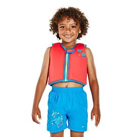 Speedo Sea Squad zwemvest junior red blue 2 - 4 jaar