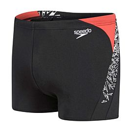 Speedo Boom Splice zwemboxer heren black