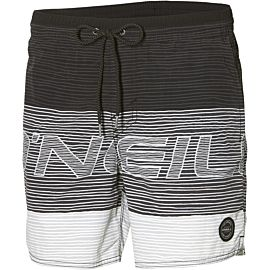 O'Neill PM Stacked Shorts zwembroek heren black aop black