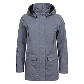 Icepeak Letty parka jas dames light grey