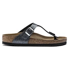 Birkenstock Gizeh slippers dames cosmic sparkle anthracite