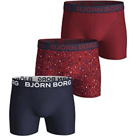 Björn Borg Graphic Star onderbroek heren jester red 3-Pack