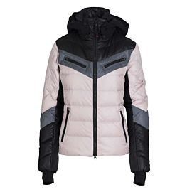 Bogner Farina Down winterjas dames light pink black grey