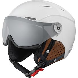 Bollé Backline Visor Premium skihelm shiny galaxy white