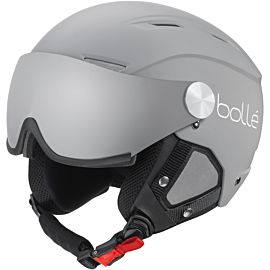 Bollé Backline Visor skihelm matte grey white