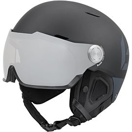 Bollé Might Visor Premium skihelm matte black grey