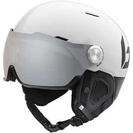 Bollé Might Visor Premium skihelm shiny white black
