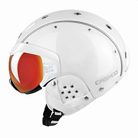 Casco SP-6 Visor skihelm white