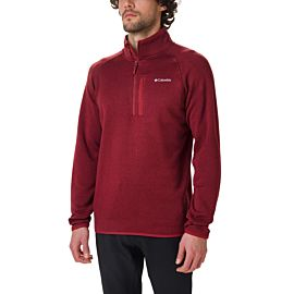 Columbia Canyon Point fleece trui heren red jasper