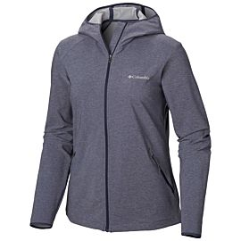Columbia Heather Canyon softshell jas dames nocturnal heather