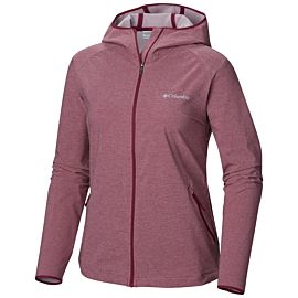Columbia Heather Canyon softshell outdoor jack dames wine berry heather