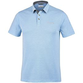 Columbia Nelson Point polo heren blue sky