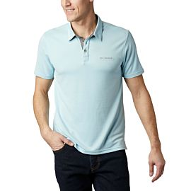 Columbia Nelson Point polo heren sky blue