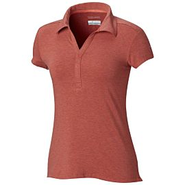 Columbia Shadow Time polo dames red coral
