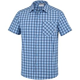 Columbia Triple Canyon overhemd heren yacht carbon plaid